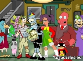 Futurama disfraces