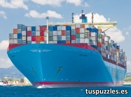 Portacontenedores Emmna Maersk