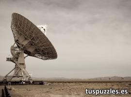 Antena de radiotelescopio