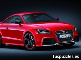 Audi TT RS rojo