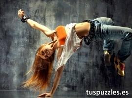 Bailarina break dance